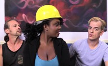 Layton Benton Gets Gangbanged By Her Workers