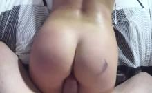 Big booty blonde banged pov