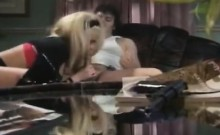 Jerry Butler, Taylor Wane in slutty chick sucks cock in