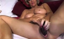 Hot Mature MILF Dildos Pussy Hard On Webcam
