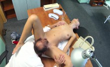 Slim babe fucked doctor in hospital