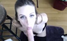 Hot Neighbor Sucks My Dick on Webcam - Cams69.net