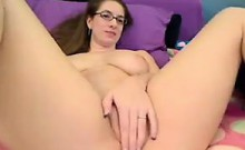 Cute Cam Girl With Glasses