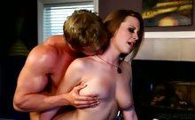 Boss Cameron fulfills his secretary sex fantasy with Delilah