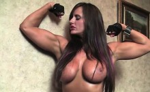 Thick Nikki Jackson Gets Naked