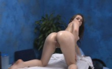 Hot 18 year old gets drilled hard by her rubber