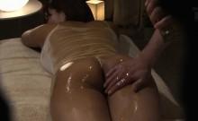Yummy Japanese hottie enjoys a hidden cam fuck massage