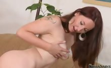 Sexy Brunette, Brooke, Bares All Her Sexy Body For Silvia!