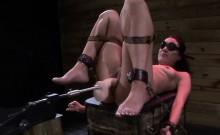 Bdsm slave throats master