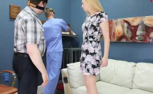 Hot girl was taken in anal hole assylum for painful treatmen