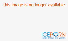 Blindfolded Asian girl in pink panties has a sex toy pleasi
