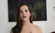 Naughty chick is caught masturbating loudly