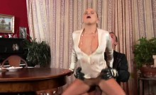 Astonished babe in underwear is geeting pissed on and plowed