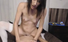Beautiful Brunette Babe Ride A Hard Cock