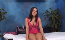 Wacko Whore Takes Weenie From Her Massage Therapist