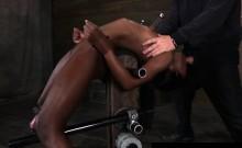 Brutal bondage device for orgasms