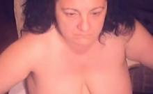 Fat Woman Masturbating
