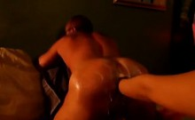 Sweet anal babe loves fisting wide ass