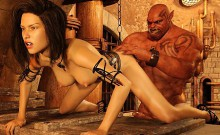 3d Girls Ruined By Monstrous Creatures!
