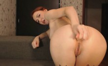 Hot Ass Ginger Anal With Most Beautiful Pussy