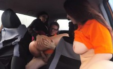Luscious Sluts Have Sex With Driving Instructor