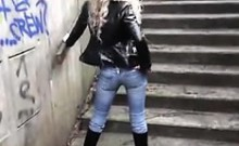 Taut Dreary Jeans And Boots! Well Scorching Fuckslut