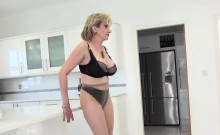 Adulterous British Mature Gill Ellis Shows Her Huge Melons96
