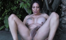 Solo Amateur Shemale With Hung Cock Teasing