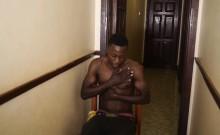 Muscular African Beats Off
