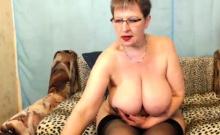Sexy Mature Big Boobs Masturbating And Squirting
