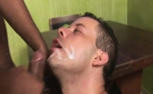 Latino Gays Hardcore Anal Rimming After Work