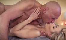 Sugar Daddy Fucks His First Teen She Is So Sexual
