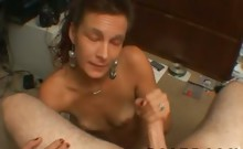 Dumbass and old mom likes to stroke dick every morning