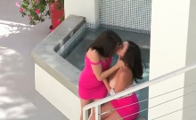 Teen Girlfriends Experiment With Each Other