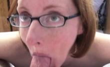 Layla Redd is sucking a stiff cock
