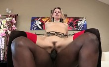 Blonde and sexy Natasha Starr shows off her butt for Lex