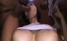 Busty Japanese Beauty In A Threesome