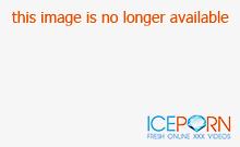 Thick Ebony Woman Teasing In A Bathroom