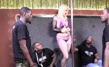 Alice Frost Gets Gangbanged By Black Guys