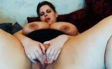 Thick And Busty Woman Teasing