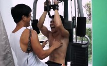 Asian Boy Vahn Gets a Ticklish Workout