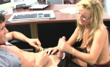 Stud pounds milf in hardcore doggy style till this chab cums