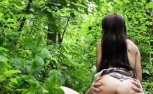 Beautiful Russian babe bangs in bushies