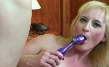 Big Tits Granny Black Cock Cumshot On Boobs After BJ