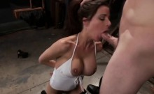 Gia enjoys some hardcore BDSM action