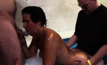Older woman group fucked