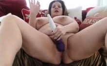 Milf with huge tits and big toys - Part 1