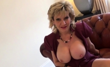 Adulterous British Milf Lady Sonia Flashes Her Huge Boobies2