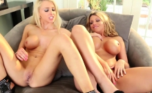 Blonde Hotties Brooklyn And Alix Get It On