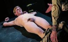 Tattoo Military Fetish And Cumshot